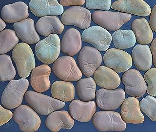 Betonex Sold Set 22 Concrete MOLDS River Rock Stone Moulds Wall Veneer Stones for FIREPLACES #W05
