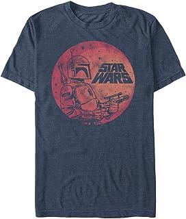 STAR WARS Men's Fett up Graphic T-Shirt
