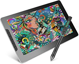Parblo Mast13 Drawing Tablet with Screen, 13.3 Inches Drawing Monitor 8192 Pressure Sensitive Battery-Free Pen Display 6 Customizable Keys 1920 x 1080 HD Screen