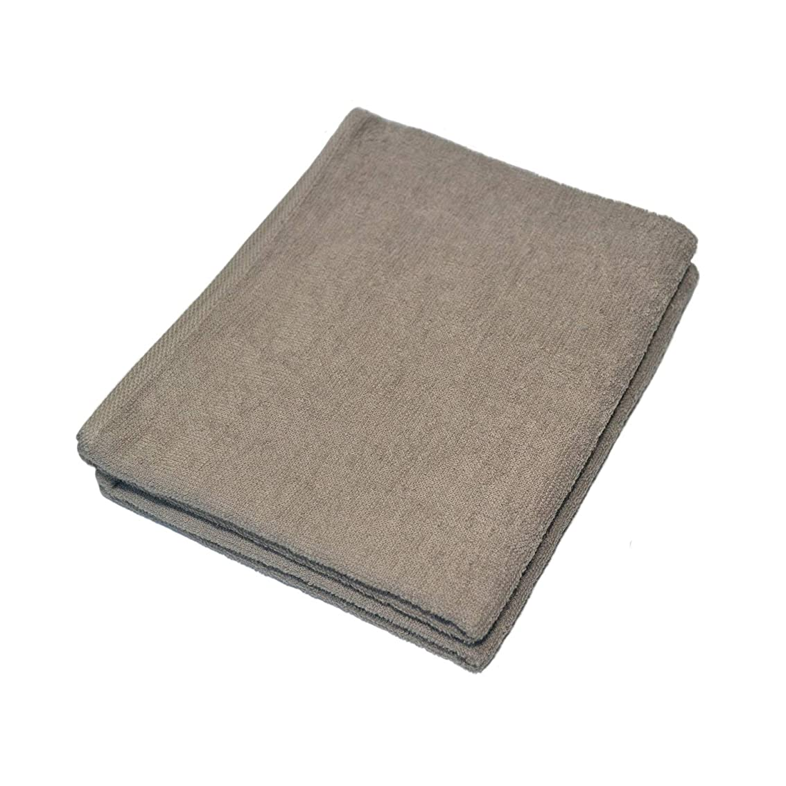 コンクリートドラゴン道徳のImabariボイルタオルFace Towel Set of 2?(ライトブラウン)
