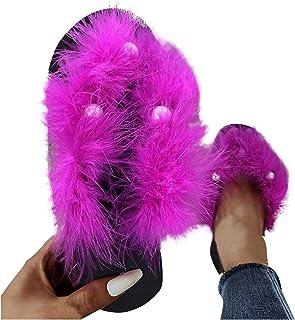 T- Flip Flops damessandalen, huisschoenen met parels, comfortabele aanpasbare zomer, strand, teenslippers, casual slippers...