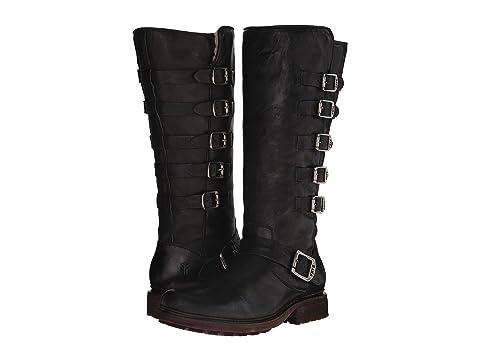 Womens Boots frye cognac tall valerie belted antique ut9c78b4