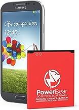Batería PowerBear Compatible para Samsung Galaxy S4 Upgraded | 2,600 mAh Batería Li-Ion para Galaxy S4 [I9505] | Batería de Repuesto S4 [24 Meses De Garantía]