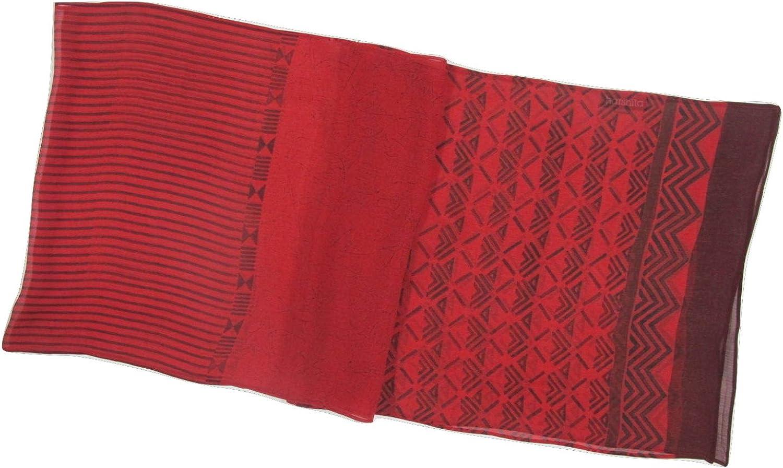 Harshita Women's Chiffon Sheer Ottoman Scarf