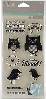Jillibean Soup Clear Stamps 4x8-You'Re Tweet