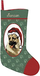 Personalized German Shepherd Christmas Stocking