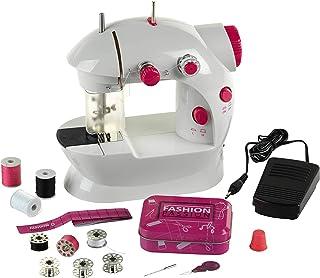 Theo Klein 7901 – Dziecięca maszyna do szycia Fashion Passion | Pedał nożny, 2 poziomy prędkości i liczne akcesoria | Zasi...