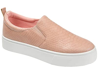 Journee Collection Comfort Foam Patrice Platform Sneaker (Blush) Women