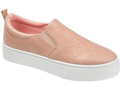 Journee Collection Comfort Foamtm Patrice Platform Sneaker (Blush) Women