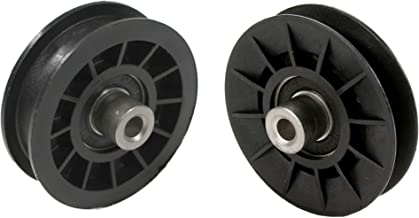 Husqvarna 532194326 V-groove Idler Pulley and 532194327 Flat Idler Pulley Kit