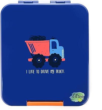 Snack Box Dark Blue with Truck