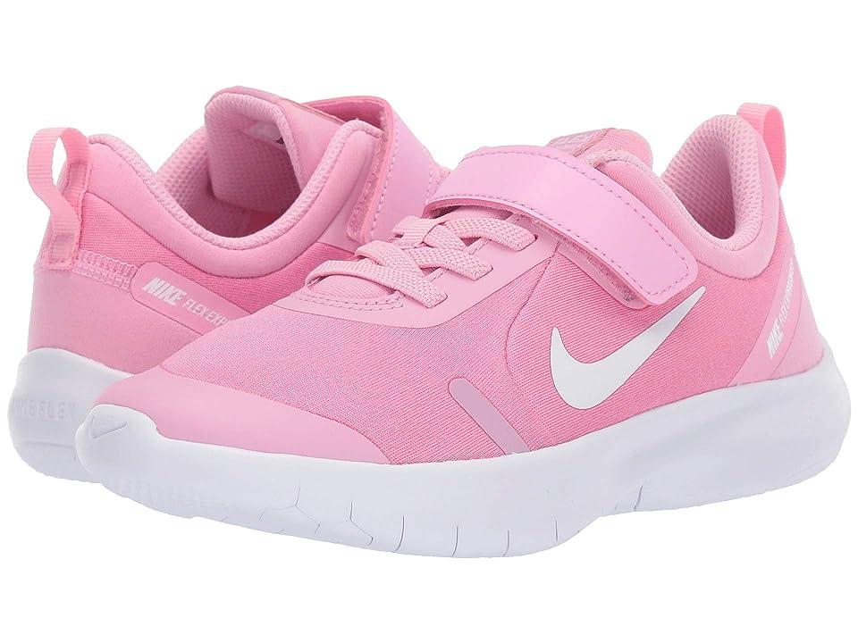 Nike Kids Flex Experience RN 8 (Little Kid) (Pink Rise/White/Pink Foam) Girls Shoes