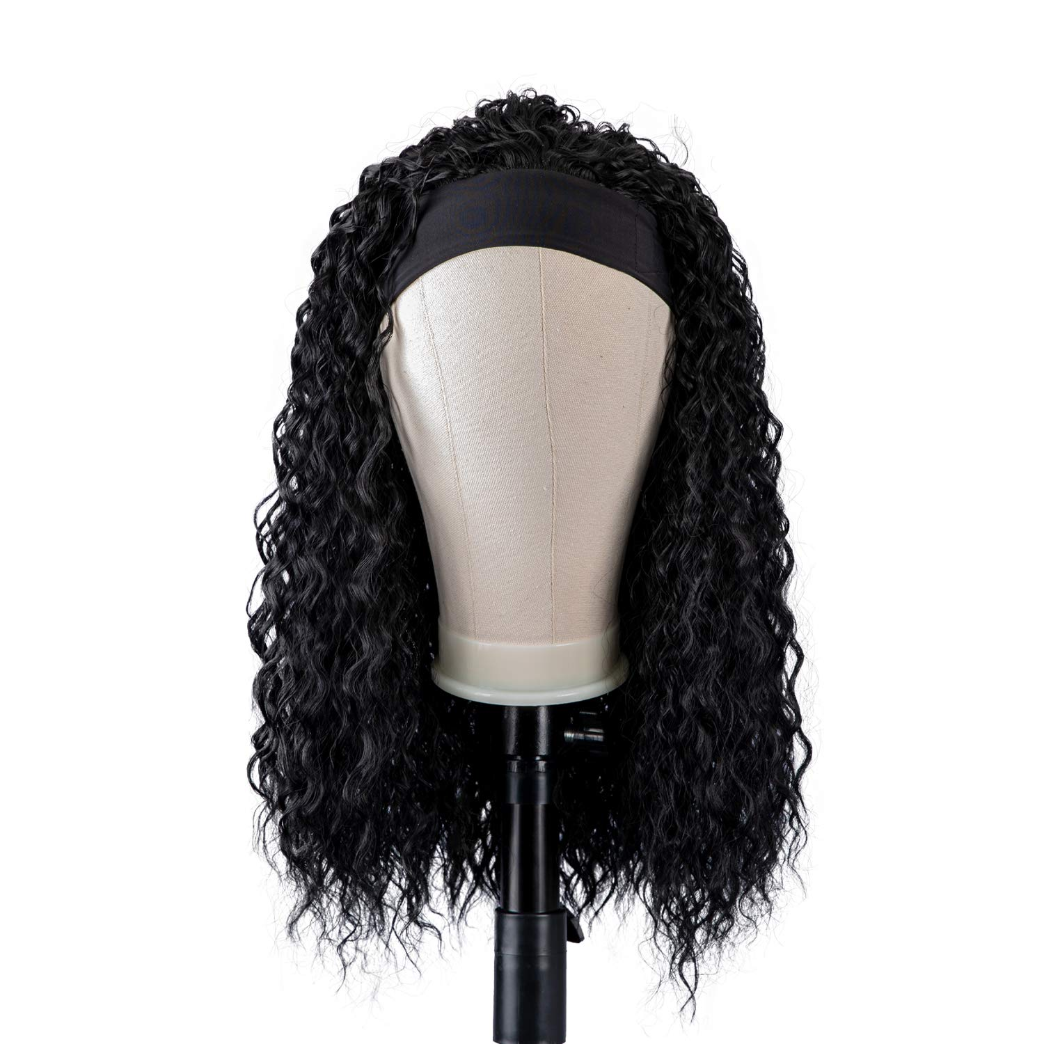 Popular shop is the lowest price challenge DreamSoul HeadBand Wig Curly Wavy Wave For Black Women Popular products Wigs