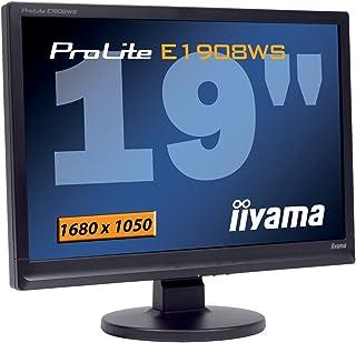 Ilyama E1908WS 19 inch Wide LCD DVI MM Monitor - Black