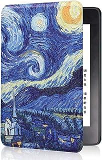 Etui do Kindle Paperwhite 4 (wersja 10. generacji-2018, model nr PQ94WIF) -JMH PU skóra inteligentna osłona ochronna z pas...
