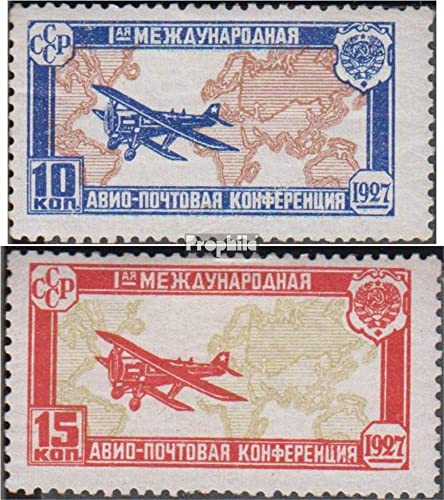 ventas en linea Prophila Collection Unión Soviética 326-327 (Completa.edición.) 1927 1927 1927 Luftpostkonferenz (Sellos para los coleccionistas) Aviación  encuentra tu favorito aquí