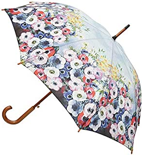 Clifton Umbrellas Anemones by Odilon Redon Art Umbrella, Blue