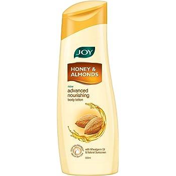 Joy Honey & Almonds Advanced Nourishing Body Lotion, For Normal to Dry skin 300ml
