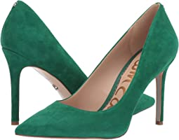 Spring Green Kid Suede Leather
