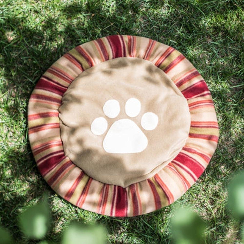 Aoligei Kennel Dog House Sleeping mat Small Dog Sofa Dog Bed Cushion cat Nest Perfect for Sunbathing mat, Nap&Sleeping Bed