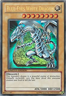 Yu-Gi-Oh! - Blue-Eyes White Dragon (LC01-EN004) - Legendary Collection - Limited Edition - Ultra Rare