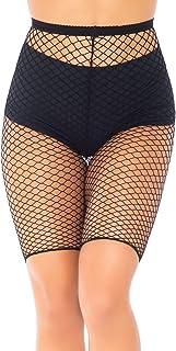 Leg Avenue Women's Industrial Fishnet Biker Shorts