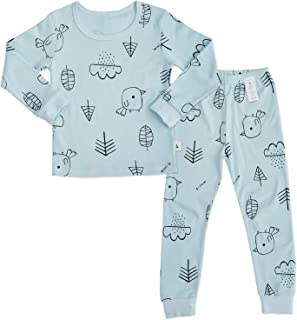 Toddler Boys Girls Pajamas 100% Organic Cotton Long...
