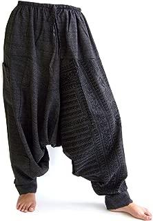 Harem Pants for Men and Women, Baggy Pants, Aladdin Pants, Yoga Pants, One Size