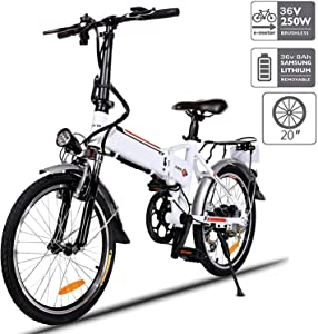 Aceshin 20″ Folding Electric Bike