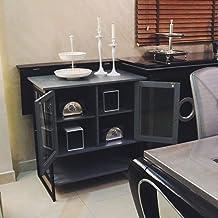 Organizing Cabinet, Wood, Grey, Nh109