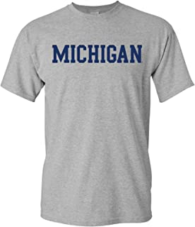 NCAA Basic Block, Team Color T Shirt, College, University