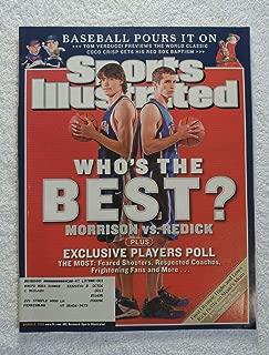 Adam Morrison vs J.J. Redick - Who's the Best? Gonzaga Bulldogs & Duke Blue Devils - Sports Illustrated - March 6, 2006 - College Basketball - SI