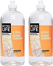 Better Life Naturally Dirt-Destroying Floor Cleaner, Citrus Mint, 32 Fl Oz (Pack of 2)