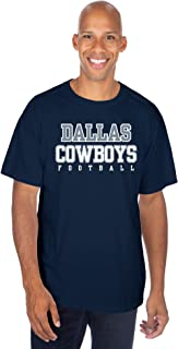 Dallas Cowboys NFL Mens Practice T-Shirt, Black, Large