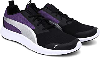 Puma Women's Breakout Wn S Idp Black-Prism Viole Sneakers
