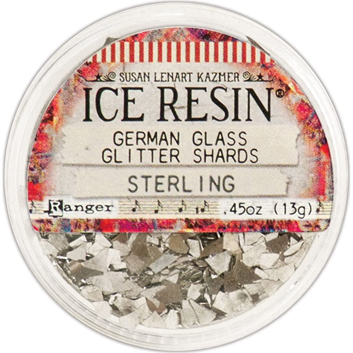 ICE Resin? Sterling Glass Glitter Shards,