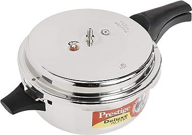 Prestige Deluxe Stainless Steel Deep Pressure Pan 5 liters