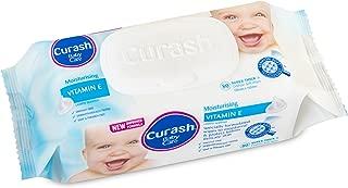 Curash Vitamin E Baby Wipes 80 PK