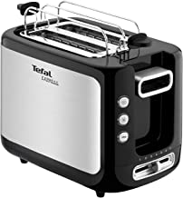 TEFAL Express Bowning/Toasting 2 Slots Toaster, 850 Watts, Stainless steel, TT365027