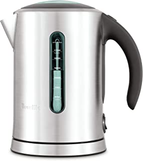 Breville BKE700BSS Soft Top Pure Tea Kettle, Brushed Stainless Steel (Renewed)
