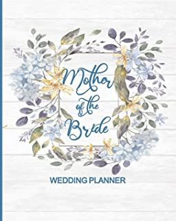 Mother of the Bride Wedding Planner: Vintage Wedding Planner and Organizer with detailed worksheets and checklists.