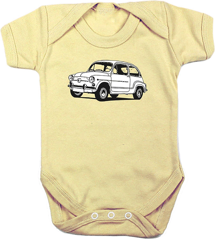 Camisetas EGB Body Beb/é Seat 600 ochenteras 80/´s Retro