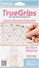 Crafters Workshop TrueCut Non-Slip Ruler Grips, 30/Pkg