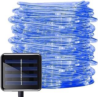 ZIYUME Luces de cuerda solar, 65.6 pies / 20M 200 LED Luces