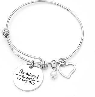 RUXIANG Infinity Endless Love Symbol Bracelet for Women Girls Adjustable Charm Forever Bracelet