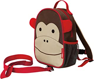 Skip Hop Zoo Little Kid and Toddler Safety Harness Backpack Marshall Monkey