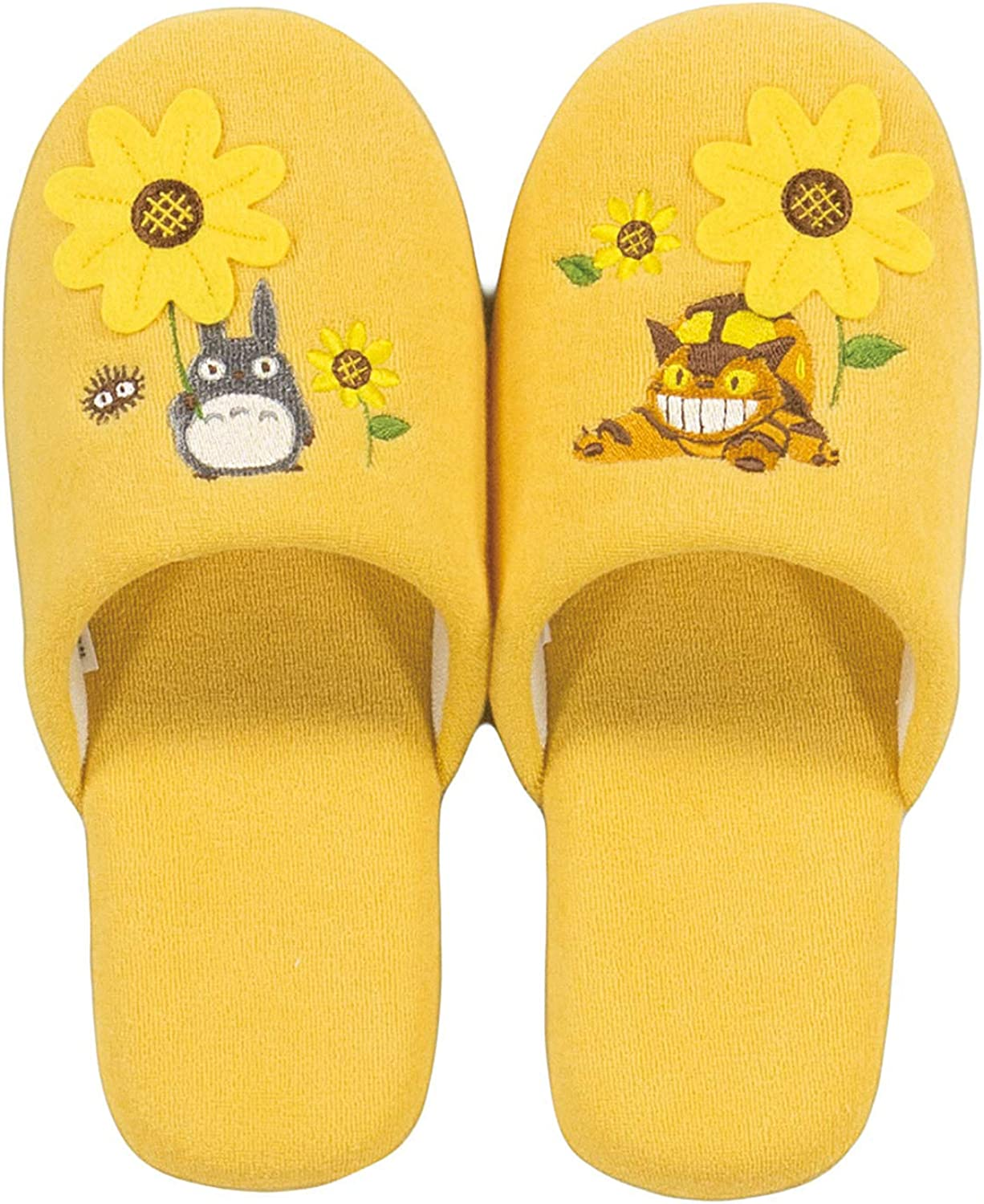 Senko Studio Ghibli My Neighbor Totgold Soft Slippers Women One Size 24cm from Japan 66798 Yellow