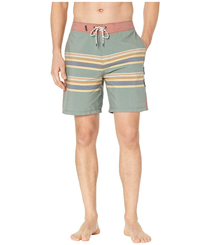 Hurley Pendelton Badlands 18 Boardshorts (Outdoor Green) Men