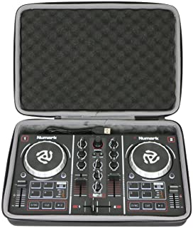co2CREA Viajar llevar Caja Bolsa Fundas Estuche Case para Numark Party Mix Controlador de DJ(travel case)