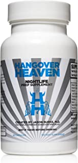 Hangover Supplement- Hangover Cure, Nightlife Prep Supplement & Hangover Prevention Pills-Headache Relief, Nausea Relief Electrolyte Pills For Morning After Alcohol Recovery - Stomach Support & Aid-42
